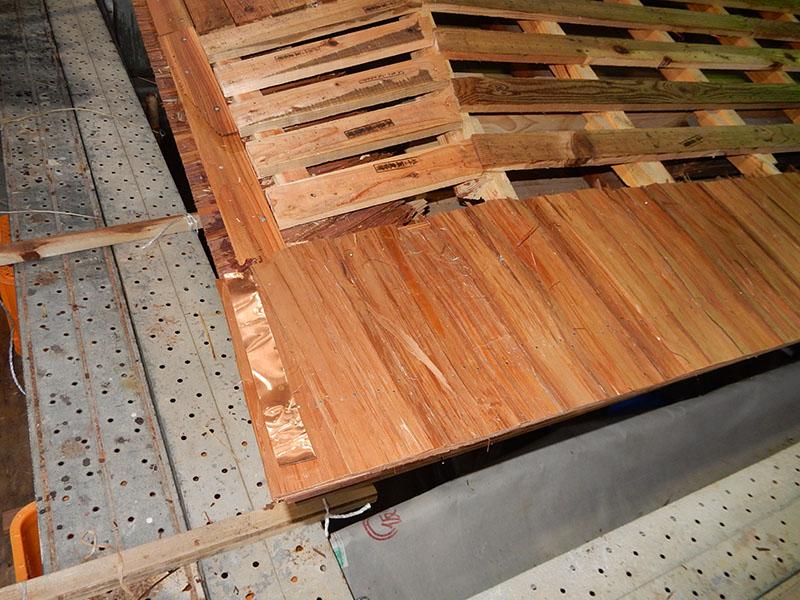 水切り銅板
