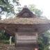 玉若酢命神社茅葺き屋根の葺き替え