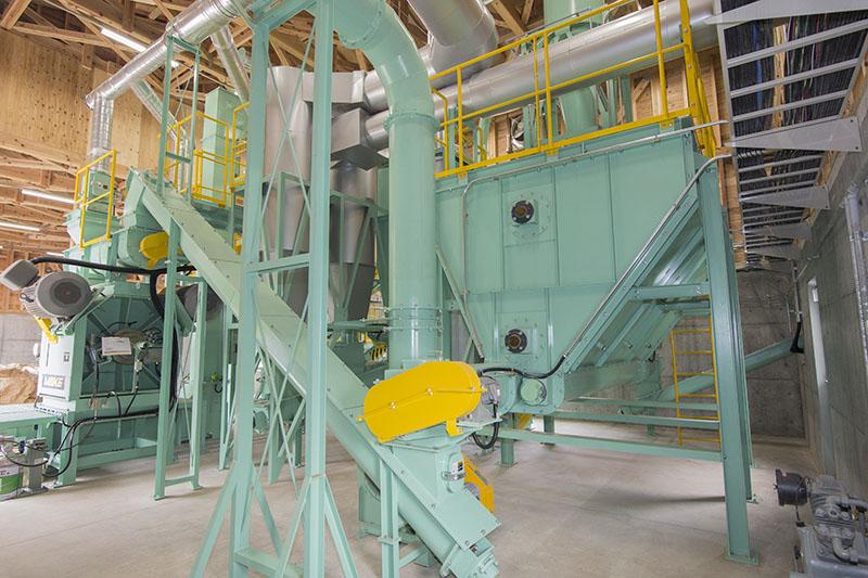 ペレット工場定量供給機