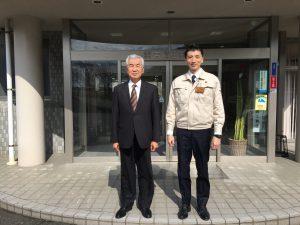 吉崎工務店新代表取締役社長